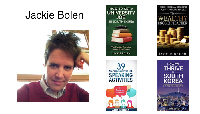 MIK 027: Jackie Bolen ESL University Lecturer in Korea, Online Business Person & Writer of Various Books Sold on Amazon: Don't Worry About Perfection & From Teaching in Korea to Doing Online Business
