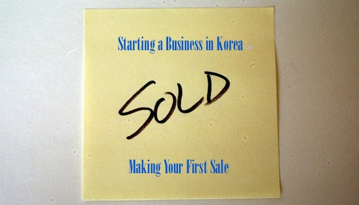MIK 049: Starting a Business in Korea - Making Your Very First Sale